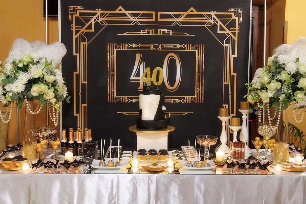 Festa dei 40 anni a Villa Twins.